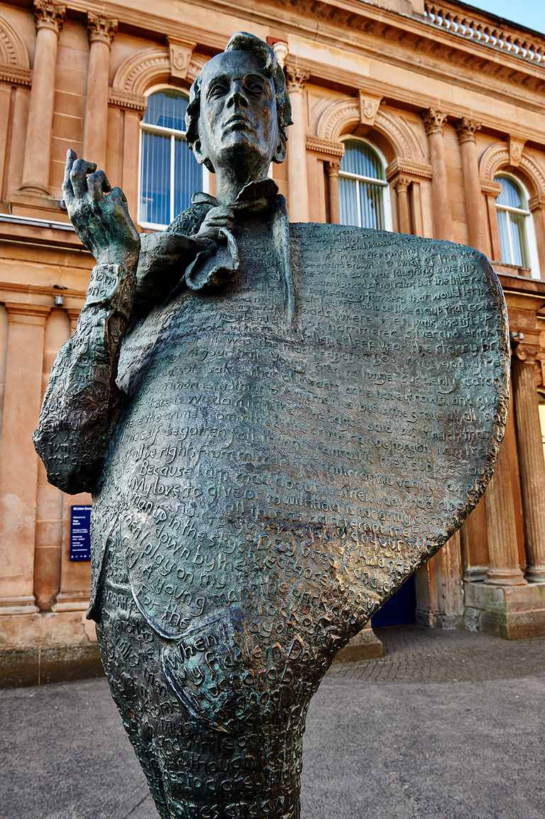 Yeats Statue, Sligo, Ireland
