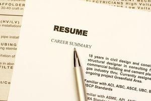 resume with summary