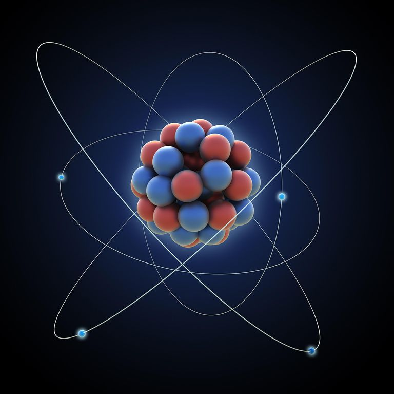 Atomic weight is the sum of the mass of the protons and neutrons of an atom.