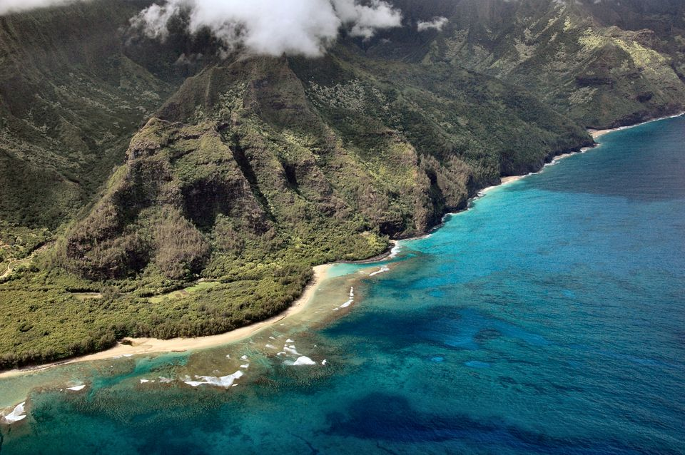 Na Pali Coast from the Air