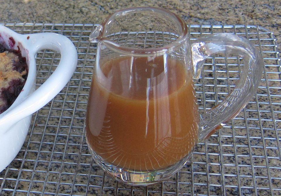 Maple Sauce for Dessert or Ice Cream