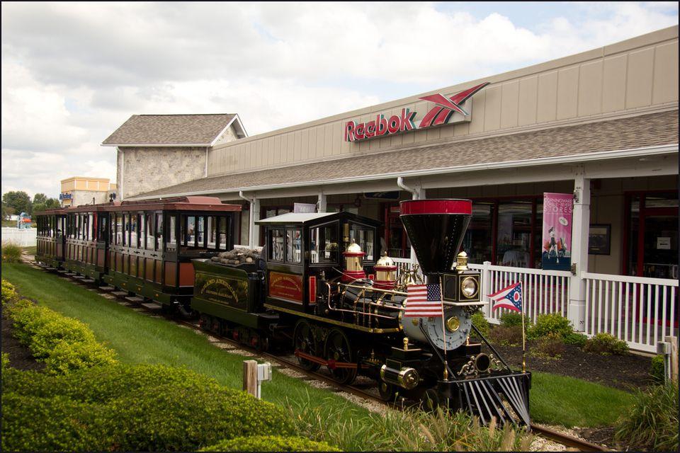 Lodi Station Outlet Center Mini Train