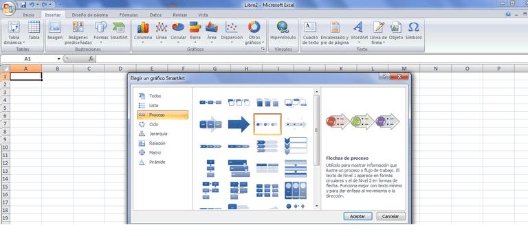Diagramas smartart en excel ccuart Choice Image