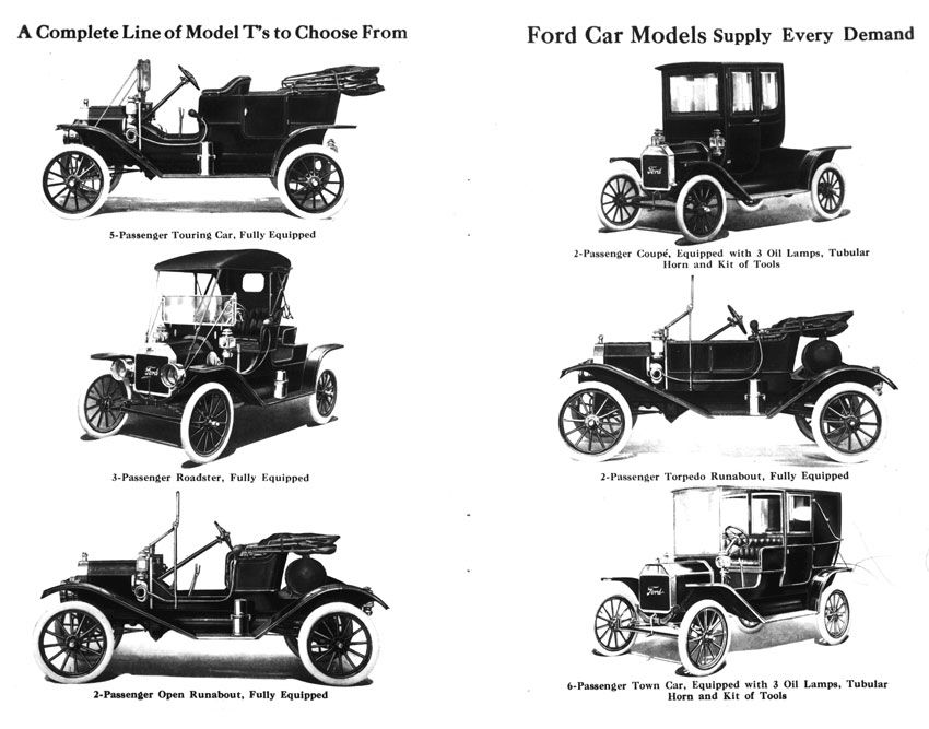 Classic Ford Trucks Featured in Vintage Ads