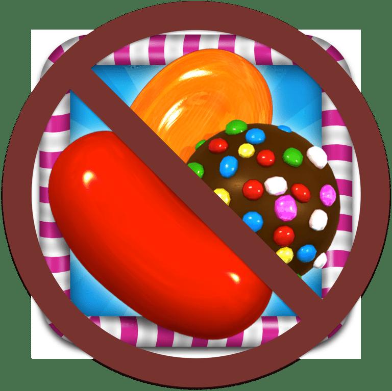 No más Candy Crush