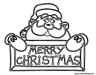 253 free santa coloring pages for the kids - Coloring Pages Santa