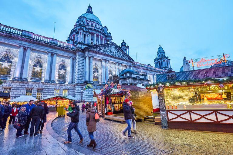 Christmas markets in Belfast, Northern Ireland