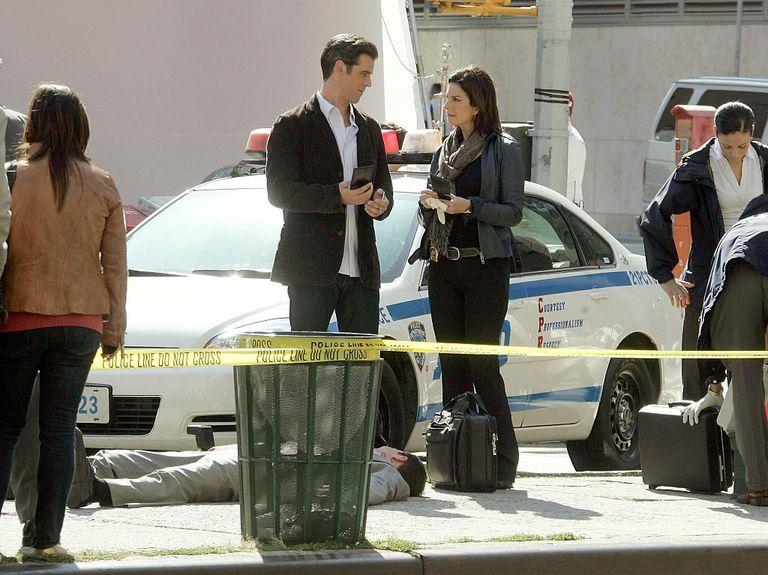 CSI cast on set