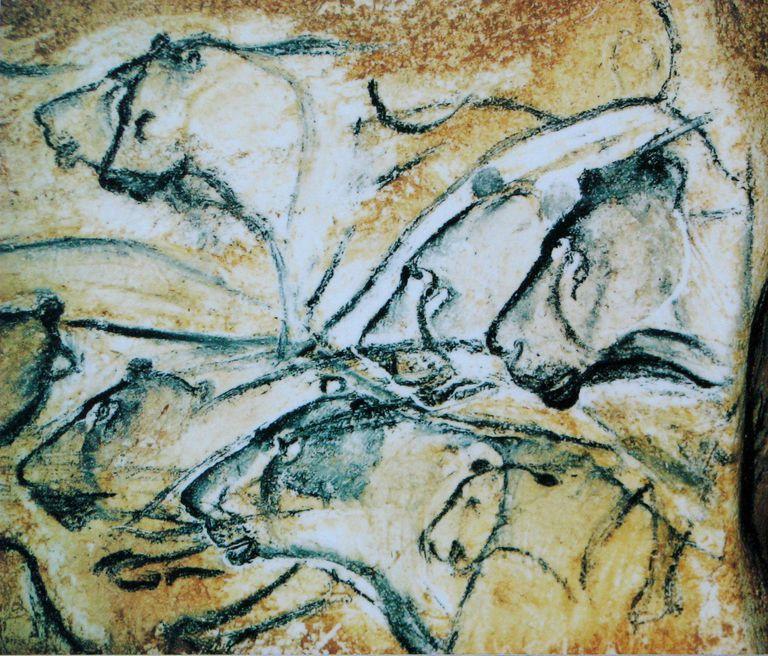 Chauvet Cave Lions