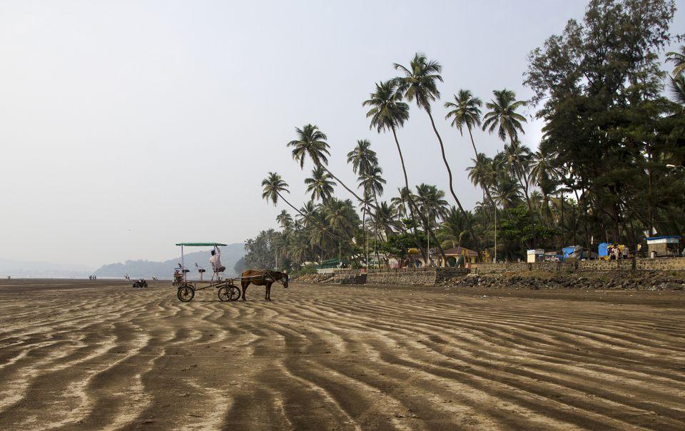 Beach near Alibaug.