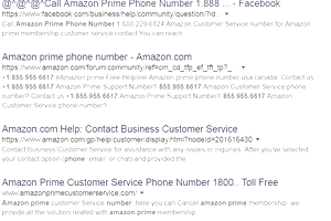 phone number for amazon customer service