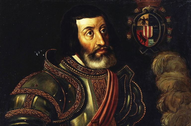 Portrait of Cortés at Museo del Prado.