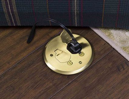 Electrical wire caps safe way to cut wire at mid point how to provide an electrical outlet in the middle of a floor solutioingenieria Choice Image