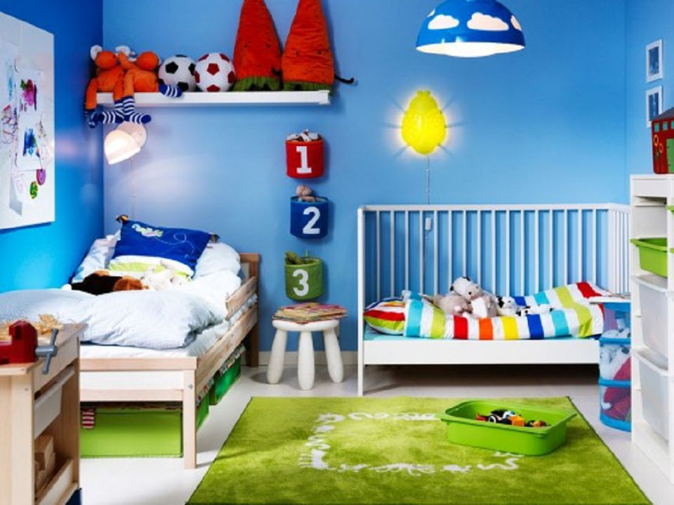 Photo courtesy of Ikea  If your very young children are sharing a room. Great Ideas for Shared Kids  Bedrooms
