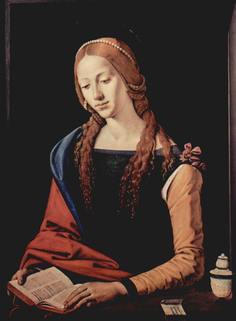 Maria Magdalena por Piero di Cosimo