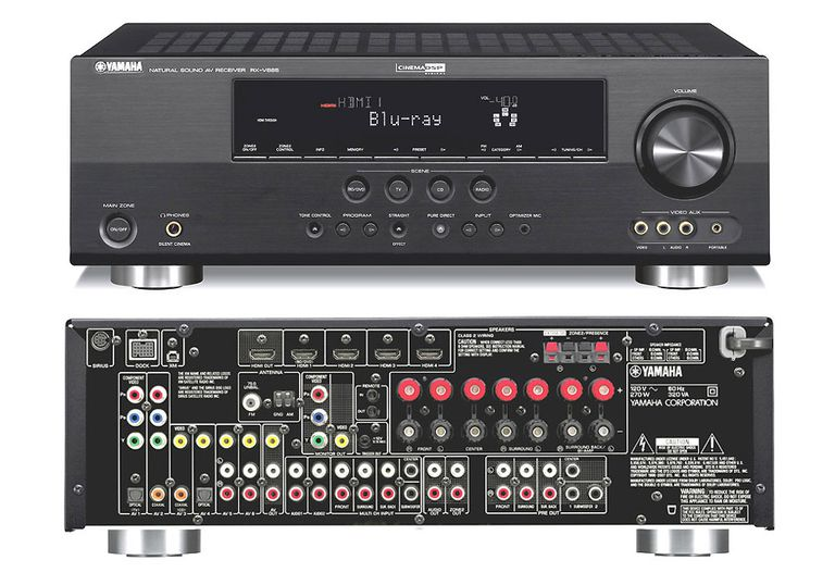 Yamaha RX-V665 7.2 Channel Home Theater Receiver
