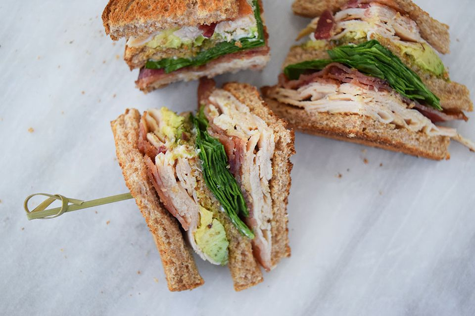 turkey bacon avocado club