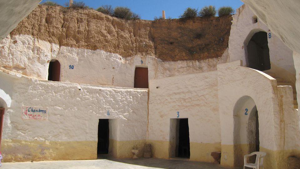 Hotel Sidi Driss, Luke Skywalker's Home, Matmata