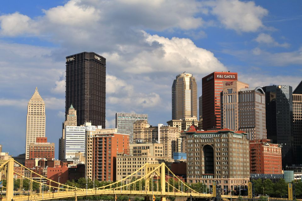 Pittsburgh downtown skyline