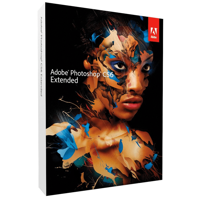 Photoshop CS6 Extended Box Cover