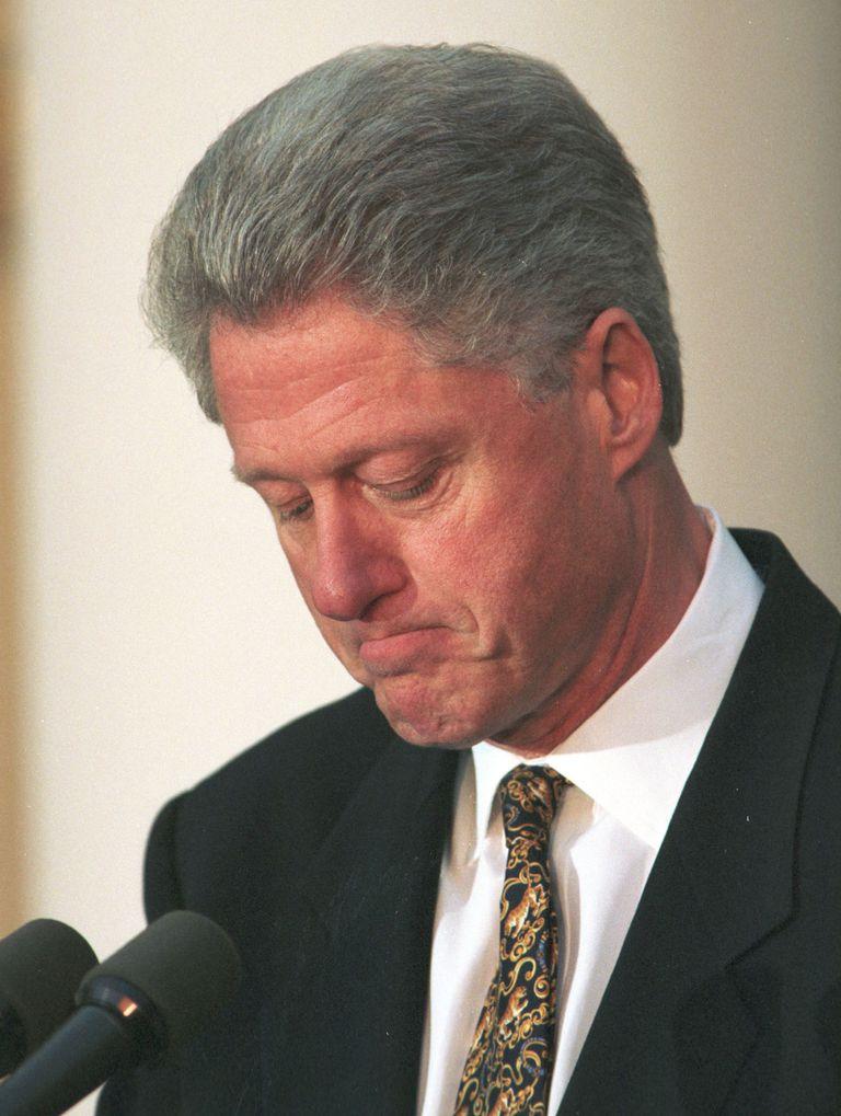 Bill Clinton - Apologia