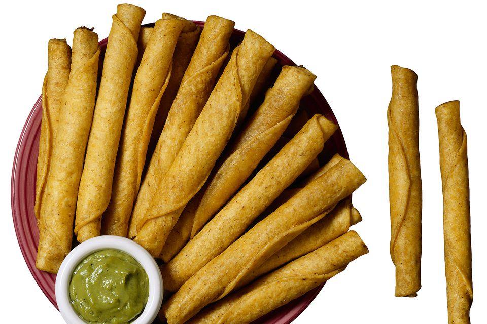 Tacos taquitos flautas
