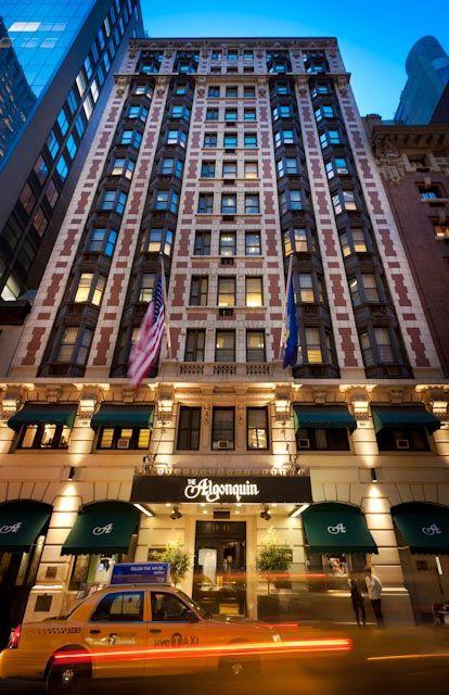 Algonquin Hotel New York Ny