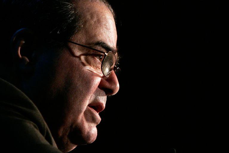 Justice Antonin Scalia Gives Talk In Virginia