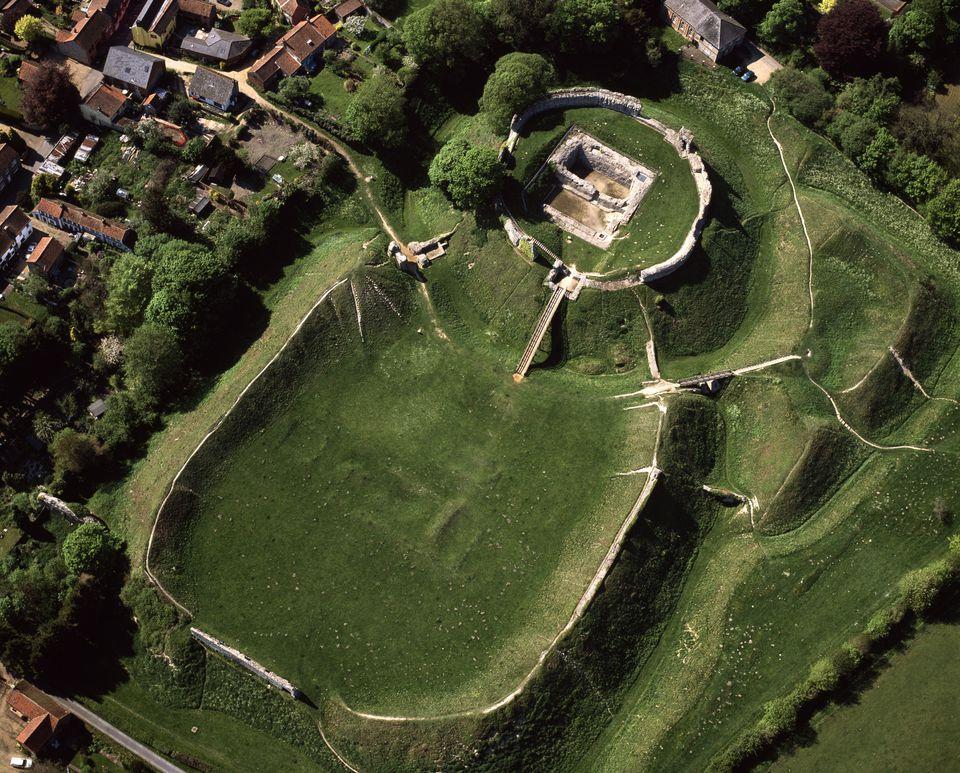 Castle Acre in Norfolk