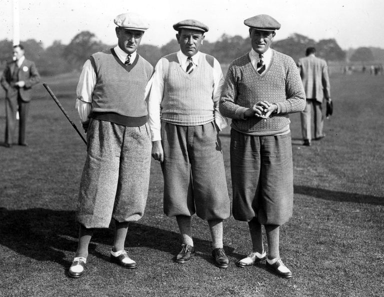 The Whitcombe brothers at 1935 Ryder Cup