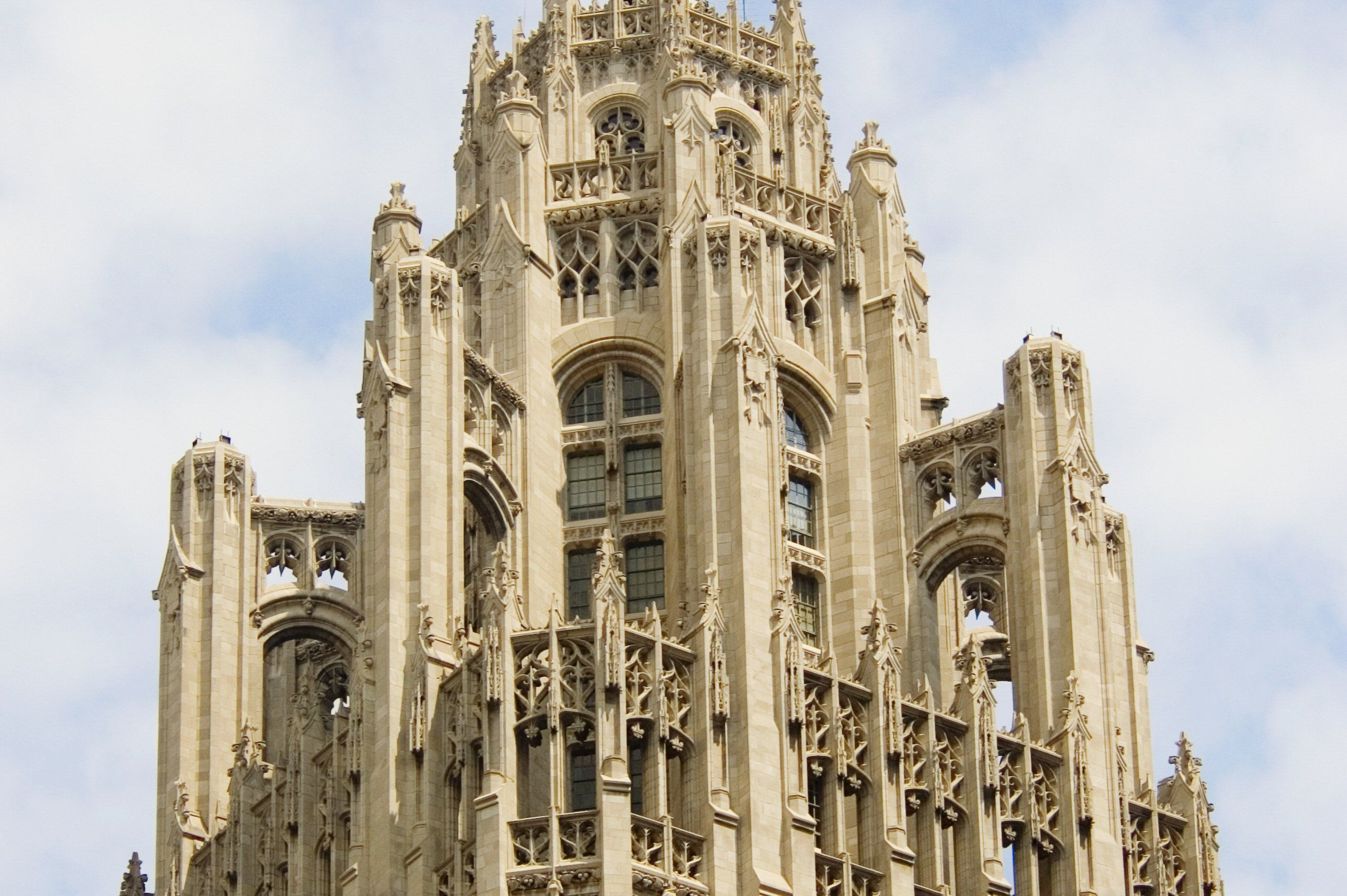 Neo Gothic The 1924 Tribune Tower In Chicago