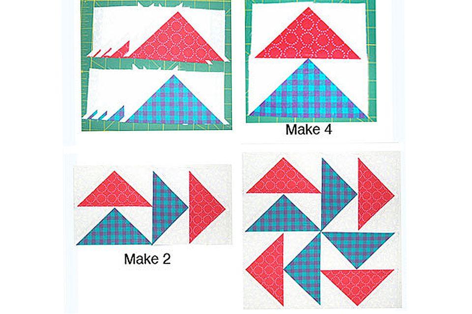 Easy Quick Pieced Flying Dutchman Quilt Block Pattern : flying dutchman quilt pattern - Adamdwight.com