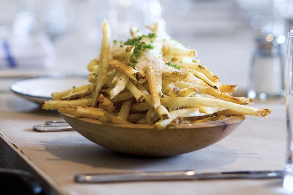 Truffle Fries with Parmesan