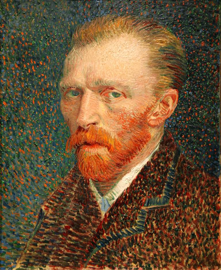 self-portrait of Van Gogh