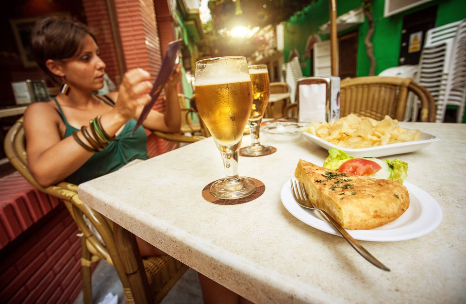 Spain Tapas and Beer