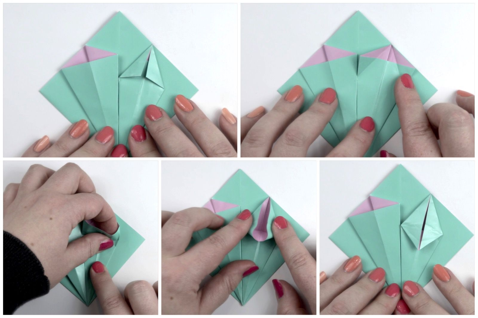 53 Directions for Origami Flower - Learn how to Make Distinctive ... | 1066x1600