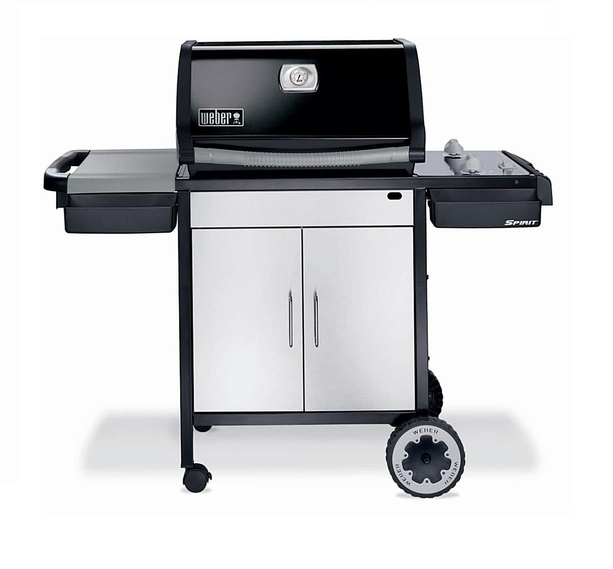 Weber spirit e 210 gas grill review for Housse barbecue weber spirit