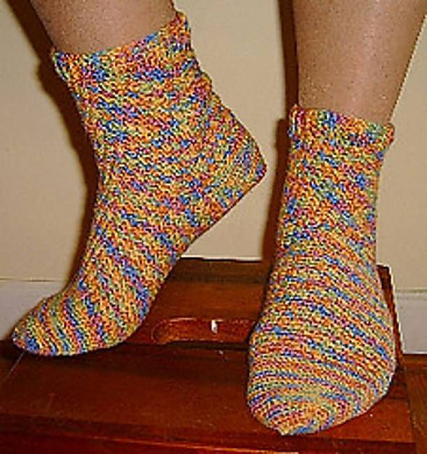Step-by-Step Crochet Socks Free Pattern