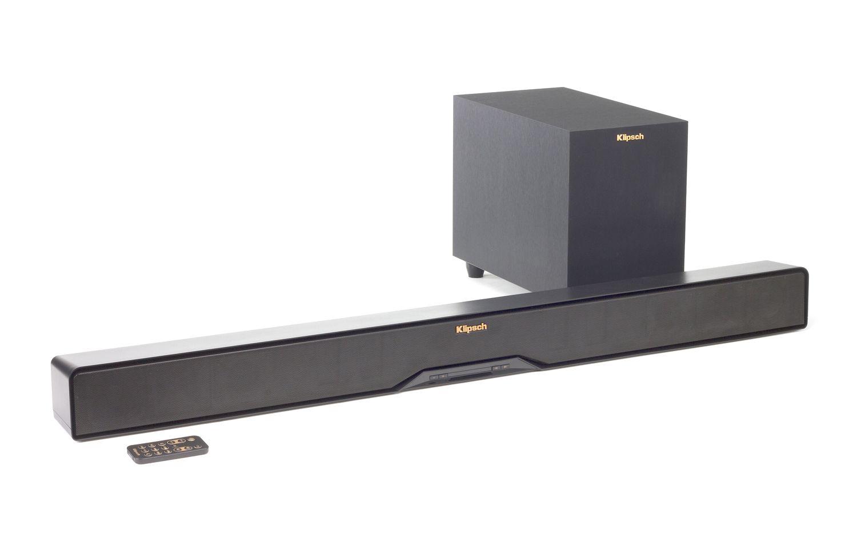 klipsch r 10b. klipsch r-4b sound bar/wireless subwoofer system r 10b o
