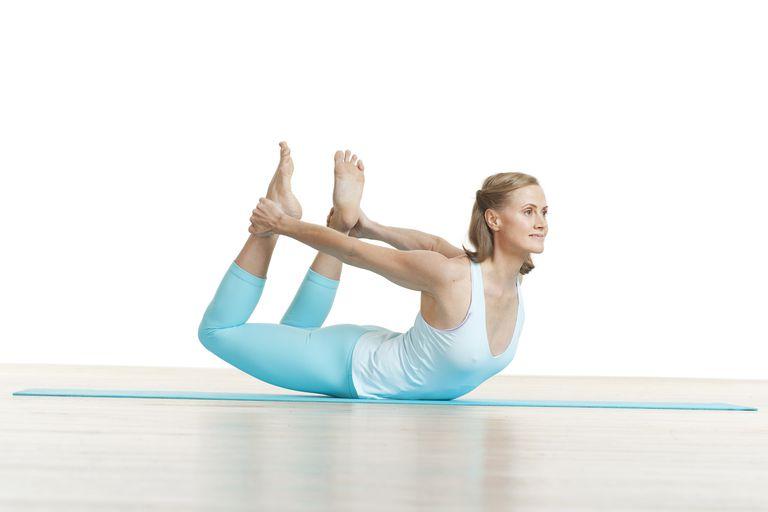 The Pilates rocking exercise.