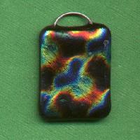 Make a Dichroic Fused Glass Pendant