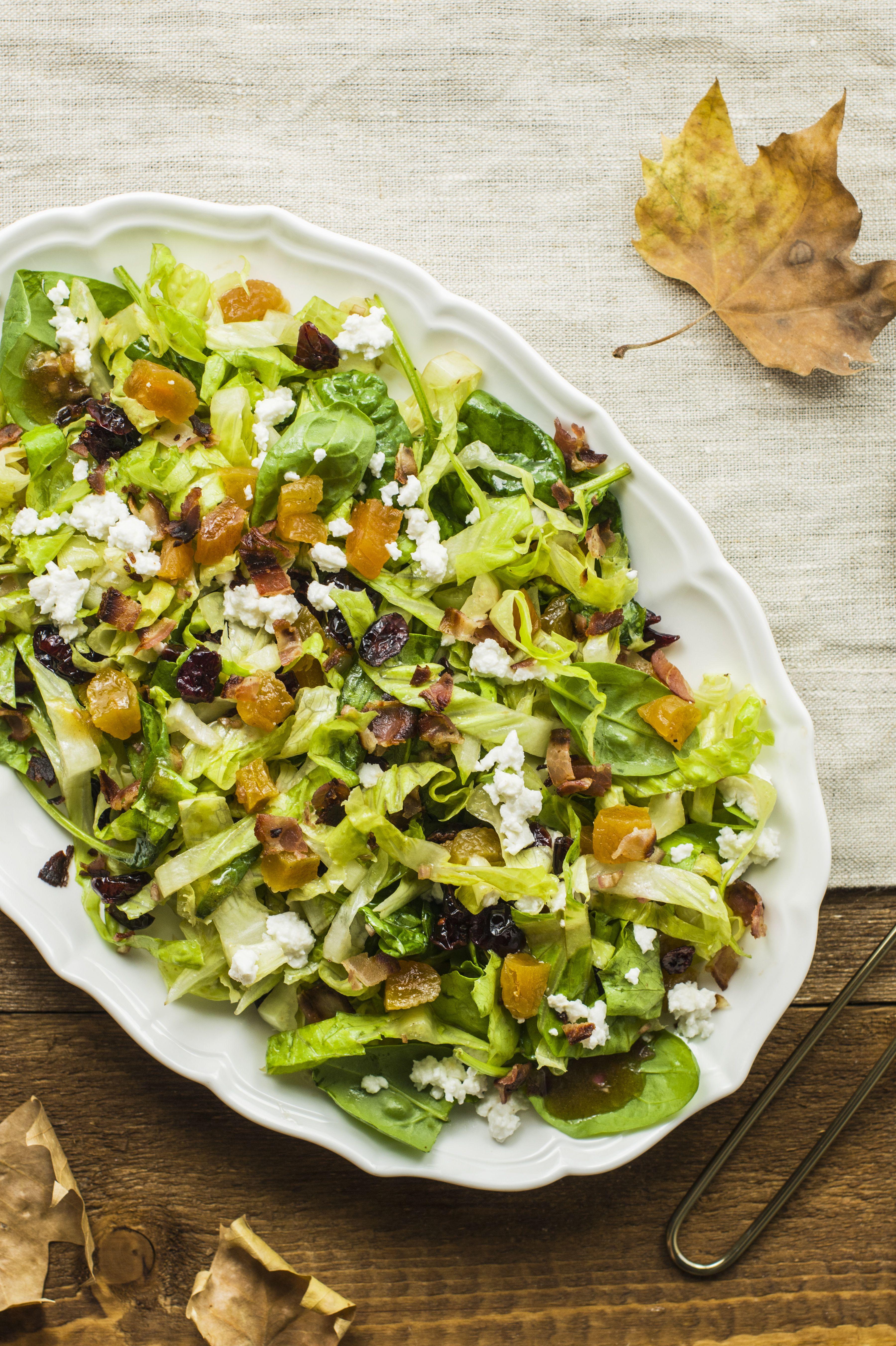 Colorful Autumn Salad