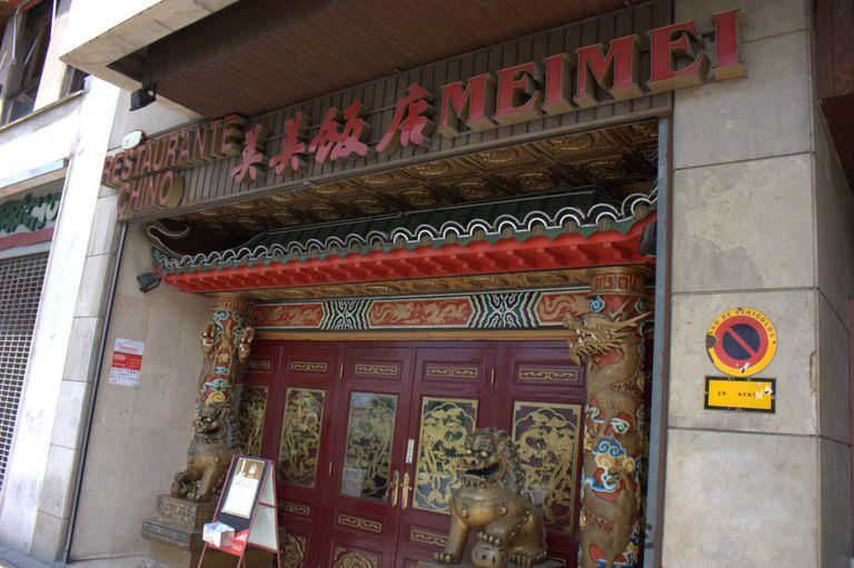 Chinese restaurant in Spain