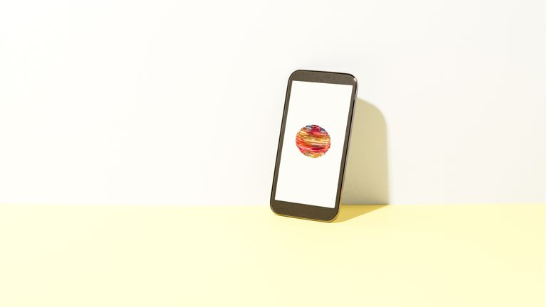 Data orb on smart phone