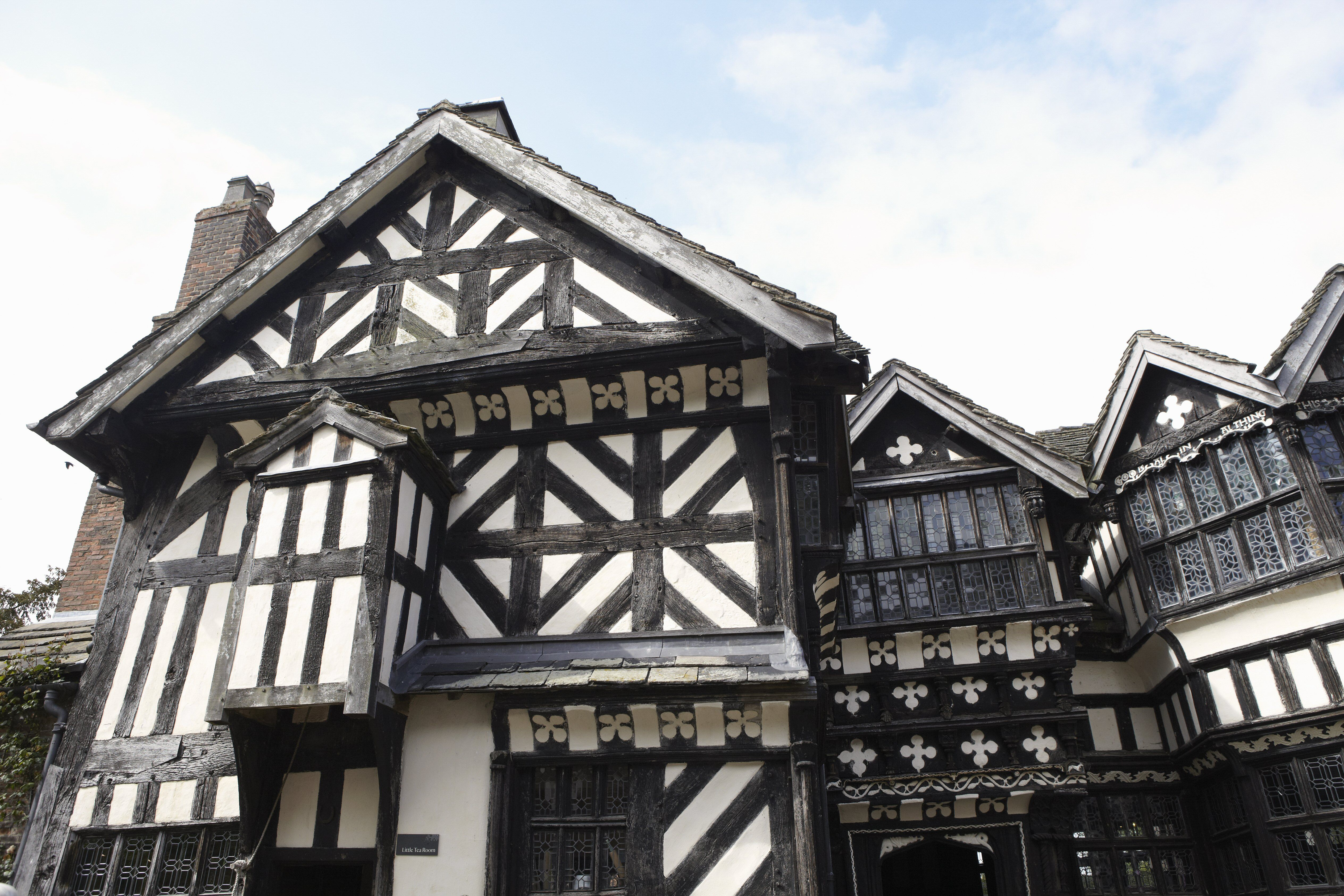 The Medieval Look Of Half Timbering