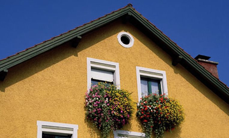 stucco exterior paint colors exterior house paint schemes - Exterior Stucco House Color Ideas