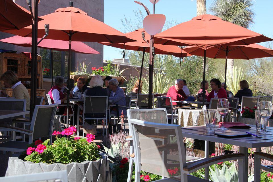 Gertrude's Restaurant at Desert Botanical Garden in Phoenix
