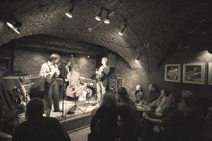 Live performance in Jazzkeller Jazz Club.