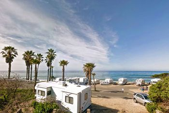 Doheny State Beach Camping Oceanfront In Dana Point Ca