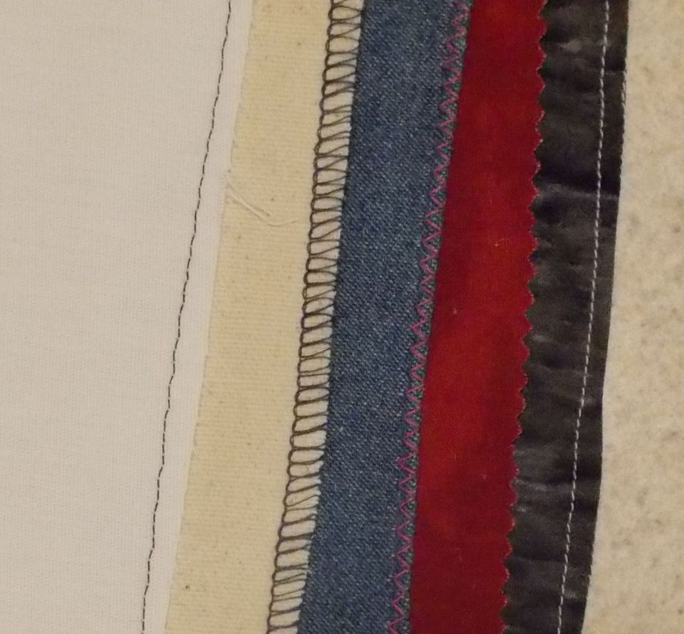 Seam Finish Samples